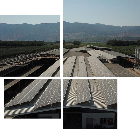התקנת מערכת סולארית מסחרית