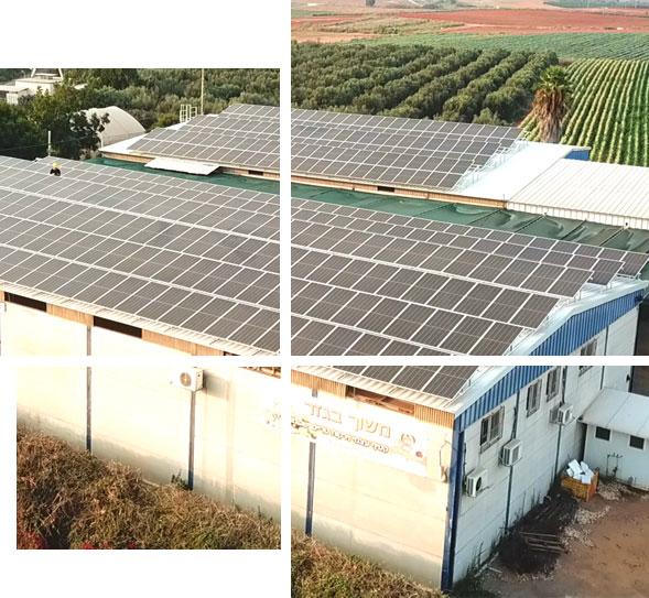 השכרת גגות למערכת סולארית מסחריות