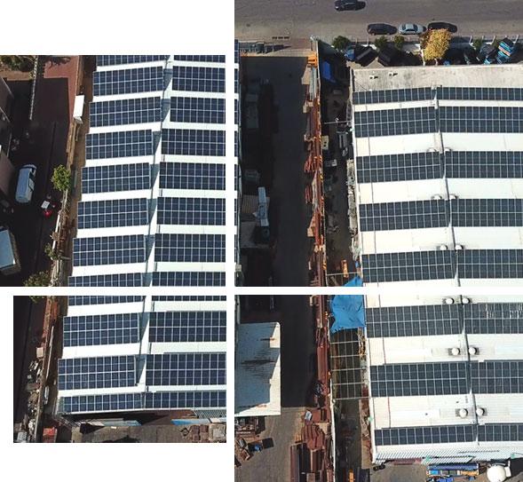 השכרת גג למערכת סולארית מסחרית