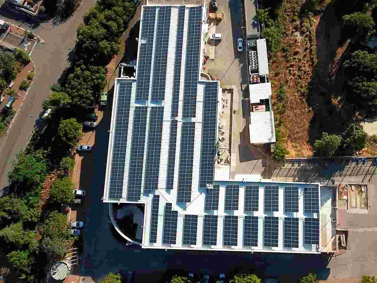 התקנת מערכת סולארית משולבת אסדרות - כרמיאל